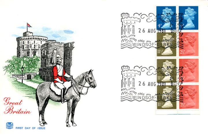 Vending: New Design: 50p Follies 1 (Mugdock Castle), Windsor Castle