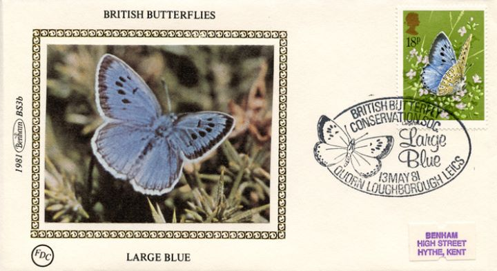 Butterflies, Large Blue