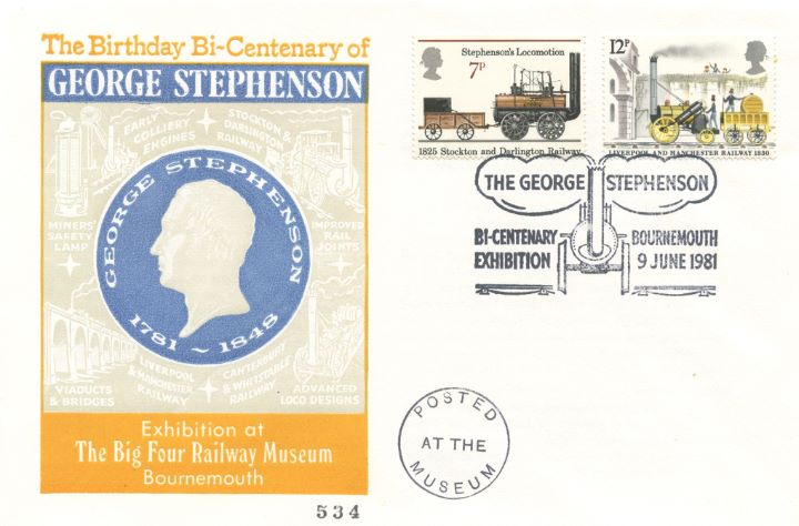 Bicentenary, George Stephenson