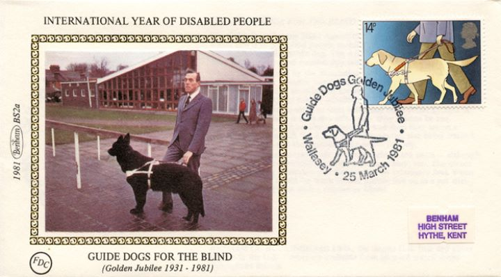 Year of the Disabled, Guide Dogs for the Blind