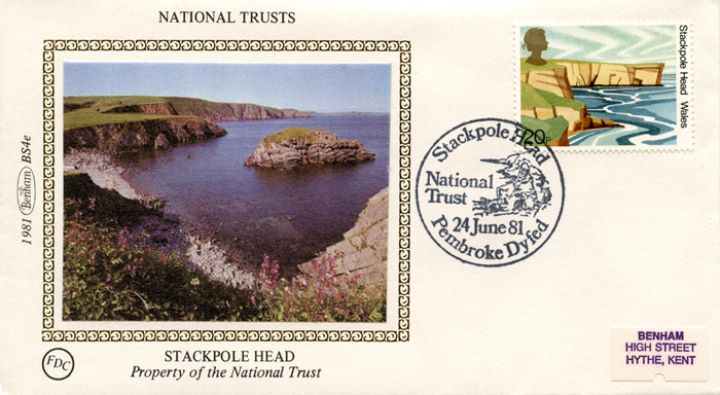National Trusts, Stackpole Head