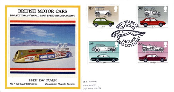 British Motor Cars, Land Speed Record