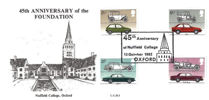 British Motor Cars, Nuffield College Oxford