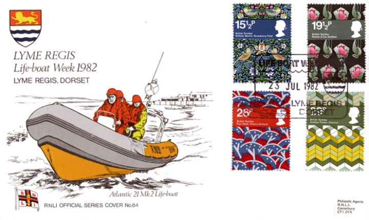 British Textiles, Lyme Regis Lifeboat Week