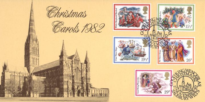 Christmas 1982, Salisbury Cathedral