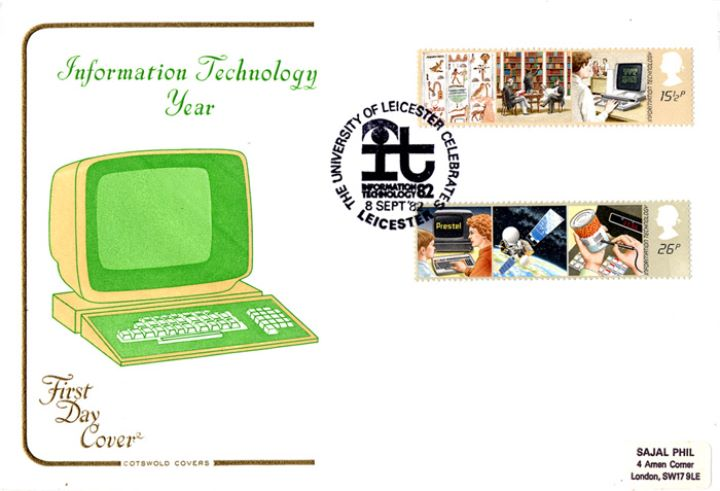 Information Technology, Monitor and Keyboard