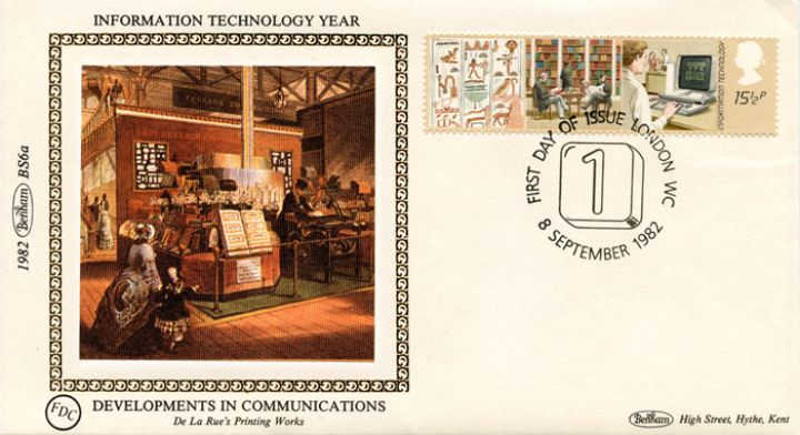 Information Technology, De La Rue's Printing Works
