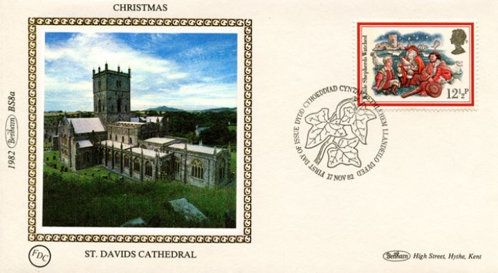 Christmas 1982, St Davids Cathedral