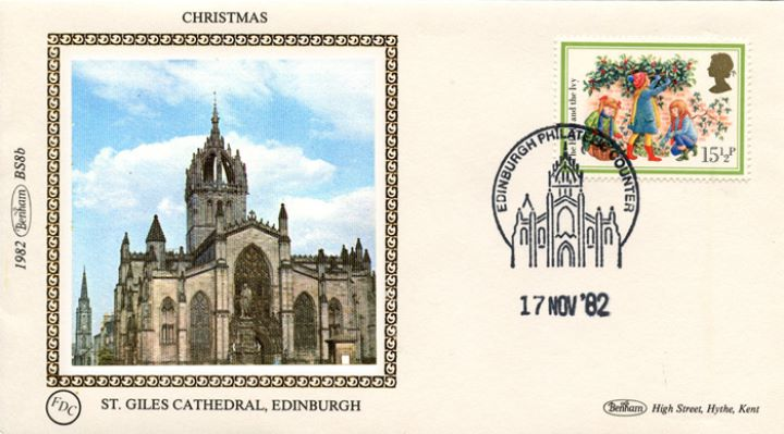 Christmas 1982, St Giles Cathedral