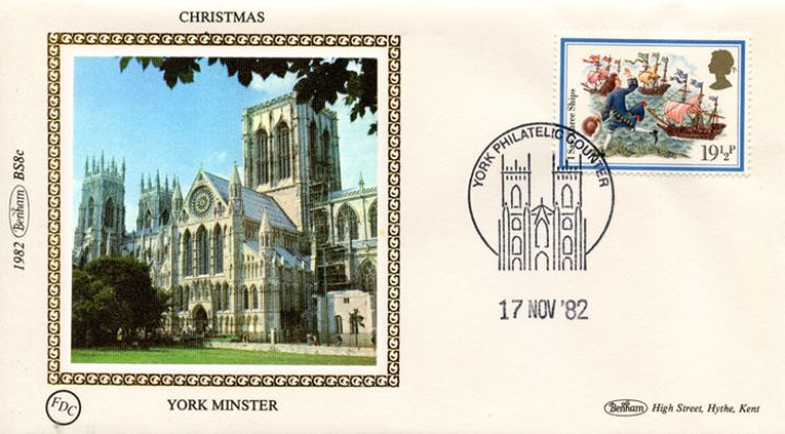 Christmas 1982, York Minster