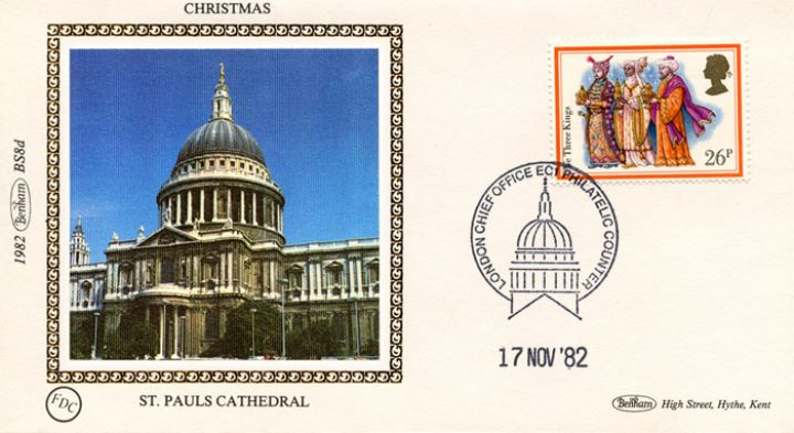 Christmas 1982, St Pauls Cathedral