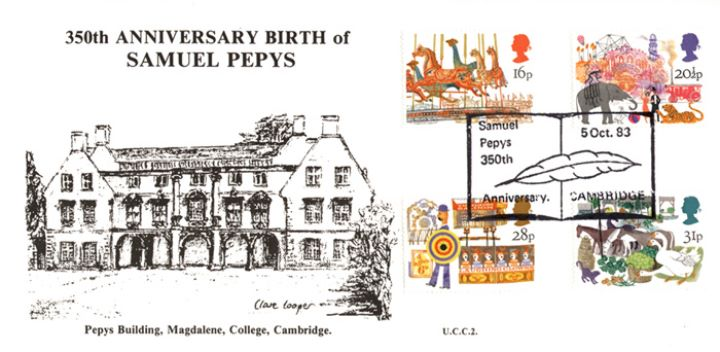 British Fairs, Samuel Pepys 350th Anniversary