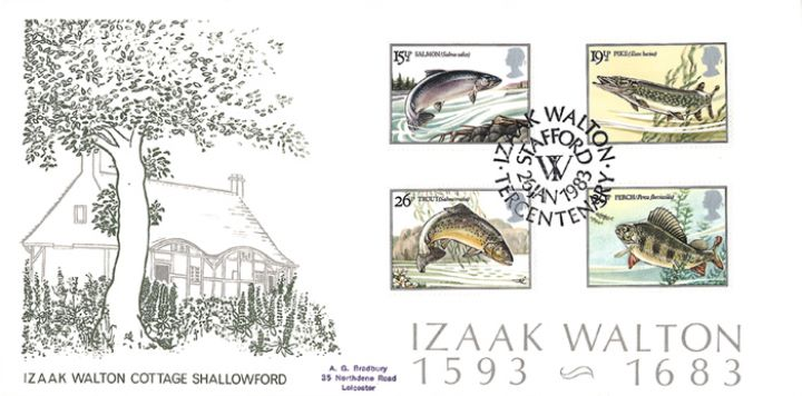Freshwater Fish, Izaak Walton's Cottage
