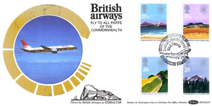 Commonwealth Day, British Airways