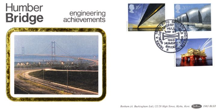 Engineering Achievements, Humber Bridge