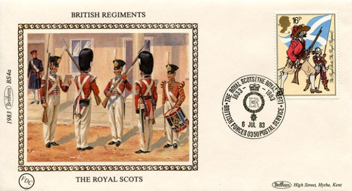 British Army, The Royal Scots