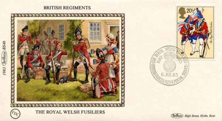 British Army, The Royal Welsh Fusiliers