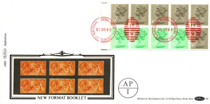 Counter: New Design: £1.46 Postal Hist. 8 (Seahorses), Seahorses