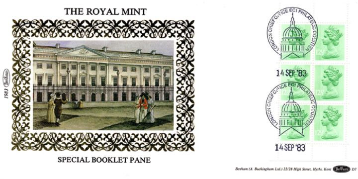 PSB: Royal Mint - Pane 2, The Royal Mint at Tower Hill
