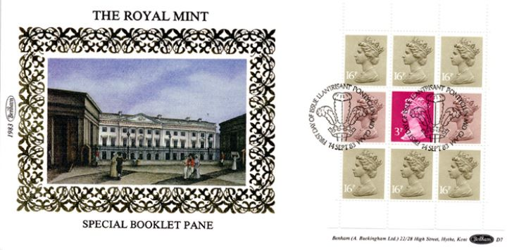 PSB: Royal Mint - Pane 3, The Royal Mint at Tower Hill