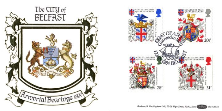 Heraldry, Armorial Bearings of the City of Belfast