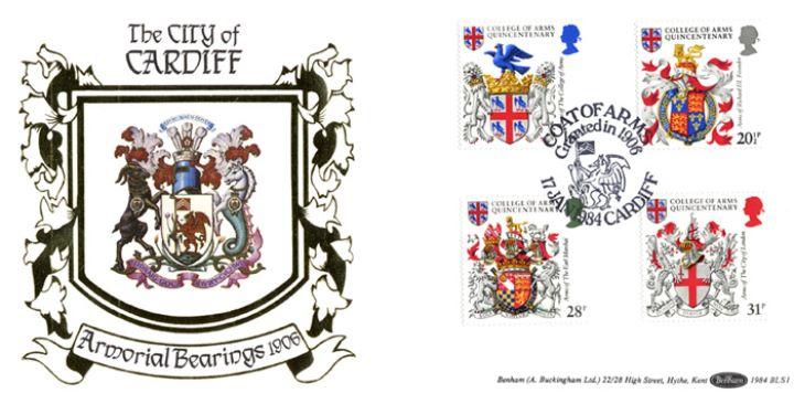 Heraldry, Armorial Bearings of the City of Cardiff