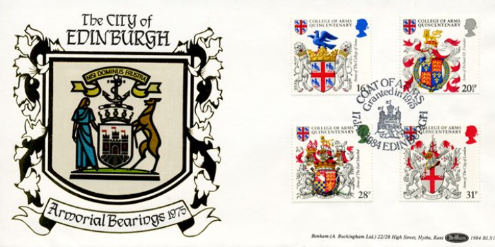 Heraldry, The City of Edinburgh
