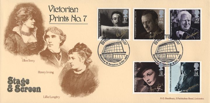 British Film Year, Henry Irving & Lillie Langtry