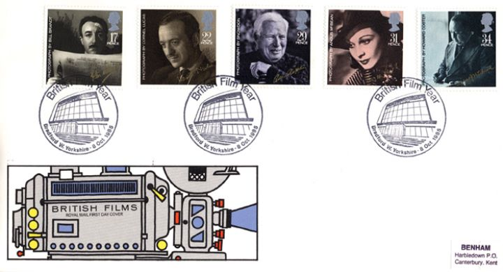 British Film Year, Special Handstamps