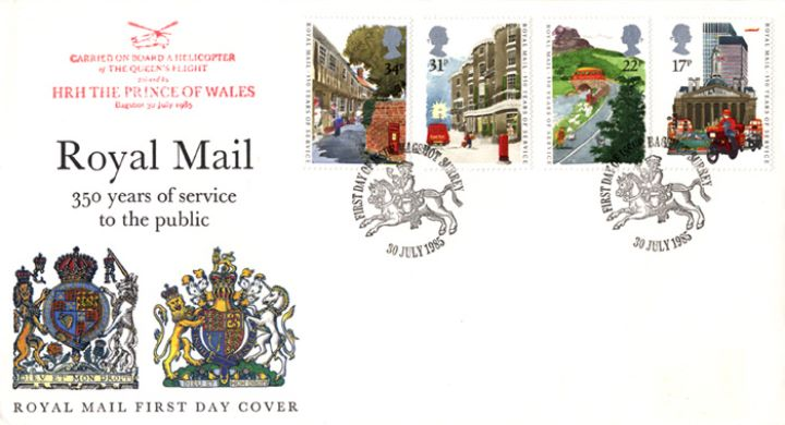 The Royal Mail, The Royal Arms