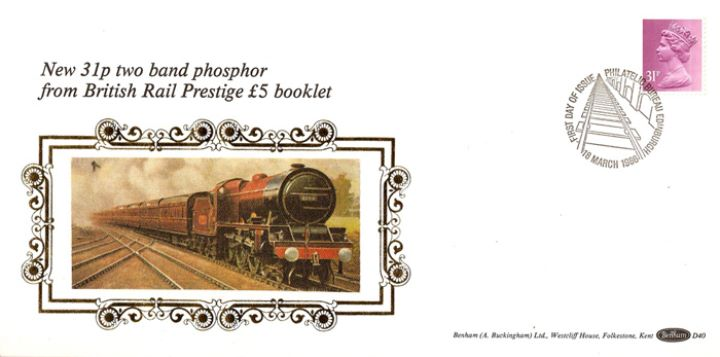 PSB: British Rail - Pane 3, Steam Locomotive