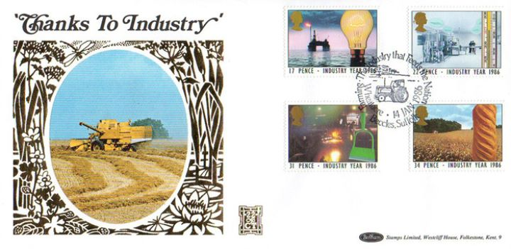 Industry Year, Combine Harvester
