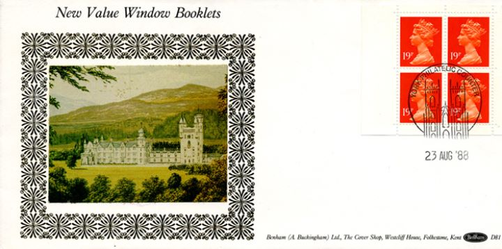 Window: Window Design: 76p, Balmoral Castle