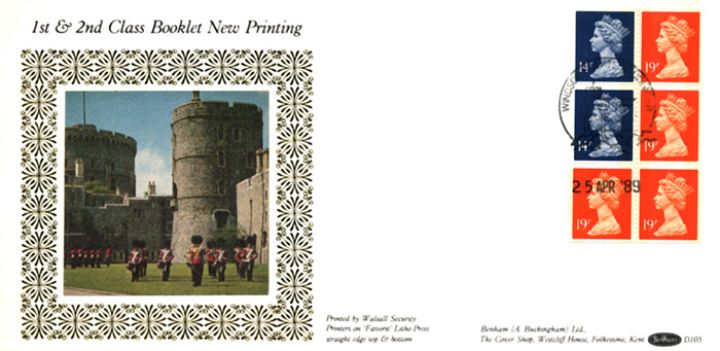 Vending: New Design: £1 Dickens 4 (Great Expectations), Windsor Castle
