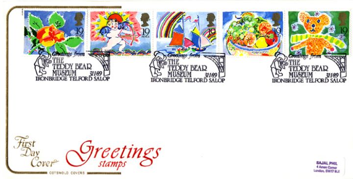 Greetings Stamps, Greetings - Cotswold