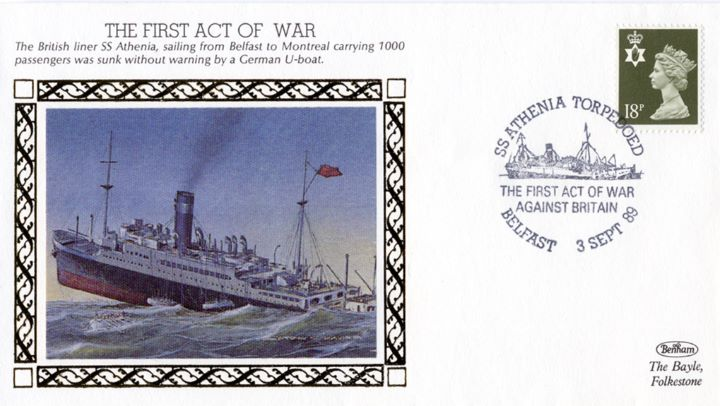 The First Act of War, SS Athenia