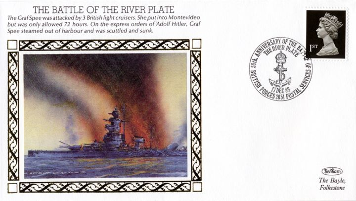 The Battle of the River Plate, Graf Spee