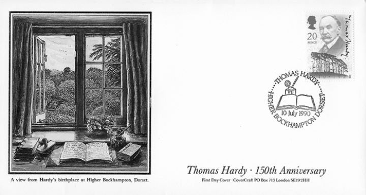 Thomas Hardy, View from Hardy's Birthplace