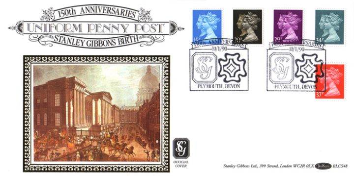 Penny Black Anniversary, 150th Anniversary of Stanley Gibbons Birthday