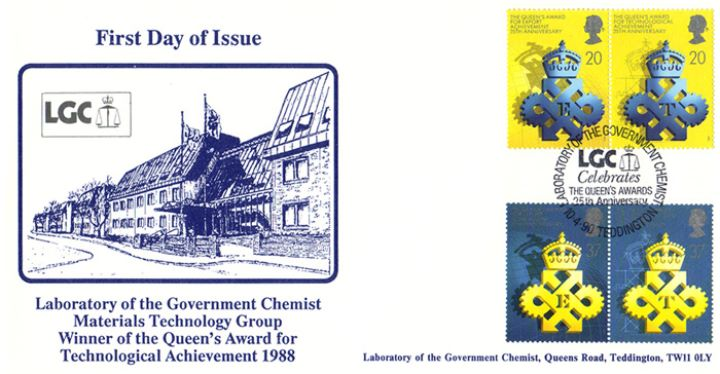 Queen's Awards to Industry, Laboratory of the Government Chemist