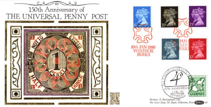 Penny Black Anniversary, Not to Exceed Half Ounce