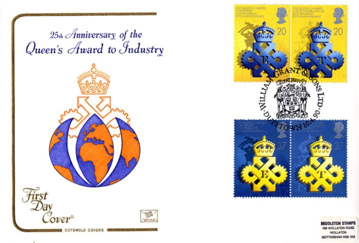 Queen's Awards to Industry, Award Emblem on Globe