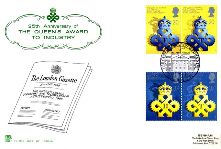 Queen's Awards to Industry, The London Gazette