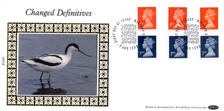 Machins: Non-value Indicators: 2nd & 1st, The Avocet