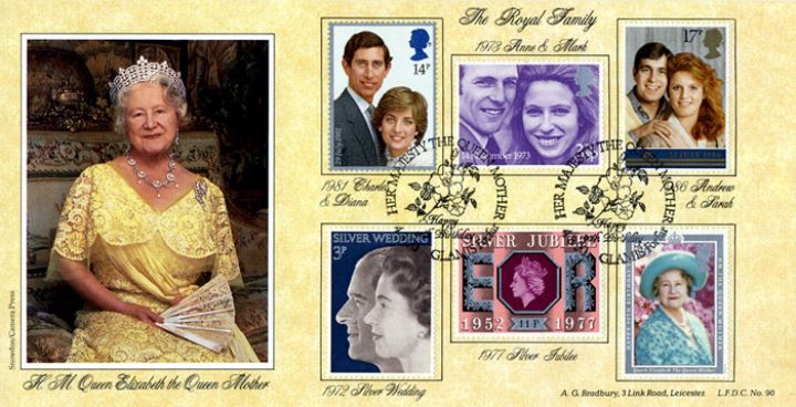 Queen Mother's 90th Birthday, The Royal Family