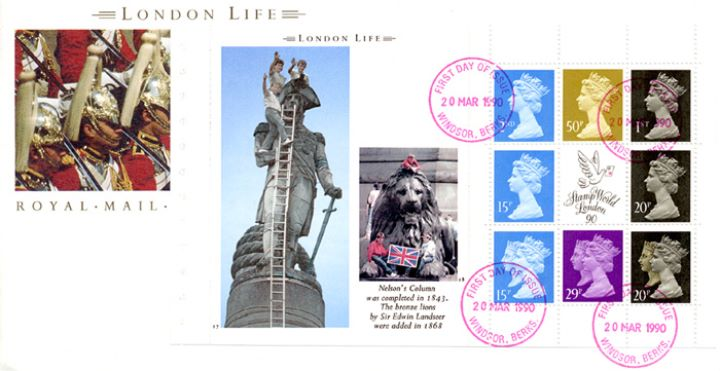 PSB: London Life - Pane 3, Nelson's Column