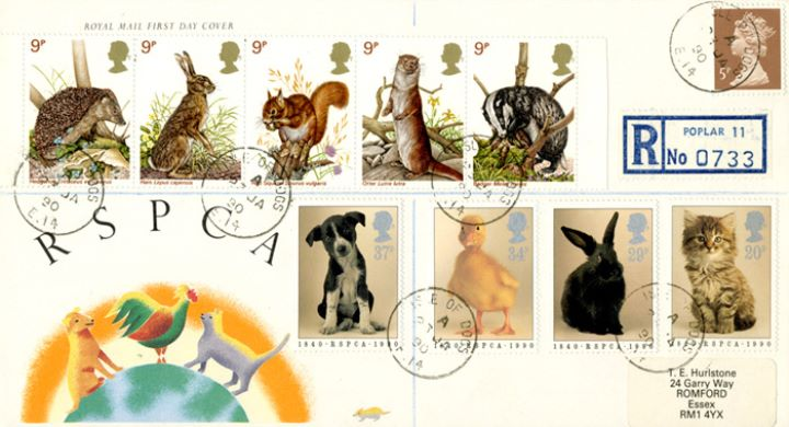RSPCA, With Wildlife Stamps