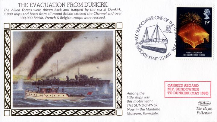 The Evacuation from Dunkirk, Allied Forces Driven Back