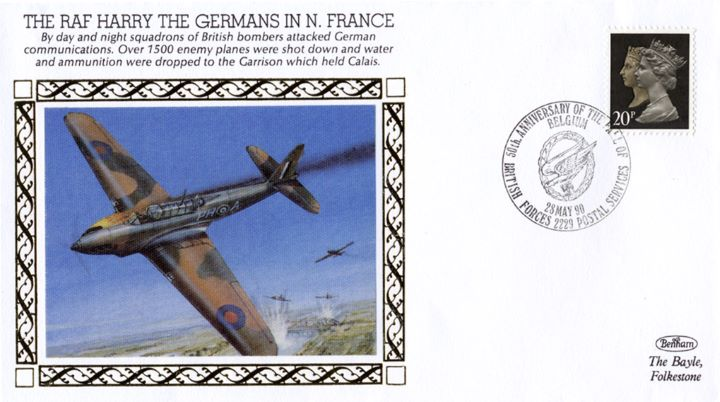 RAF Harry, The Germans in N France