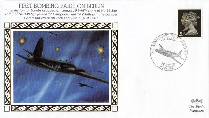 First Bombing Raids on Berlin, Bomber Command Attack